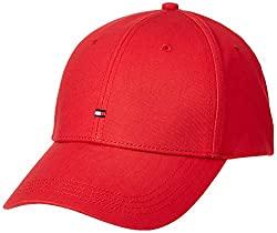 Apfelrote Tommy Hilfiger Baseball Cap