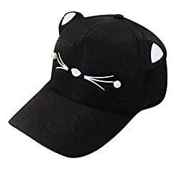 Schwarze Katzenohren